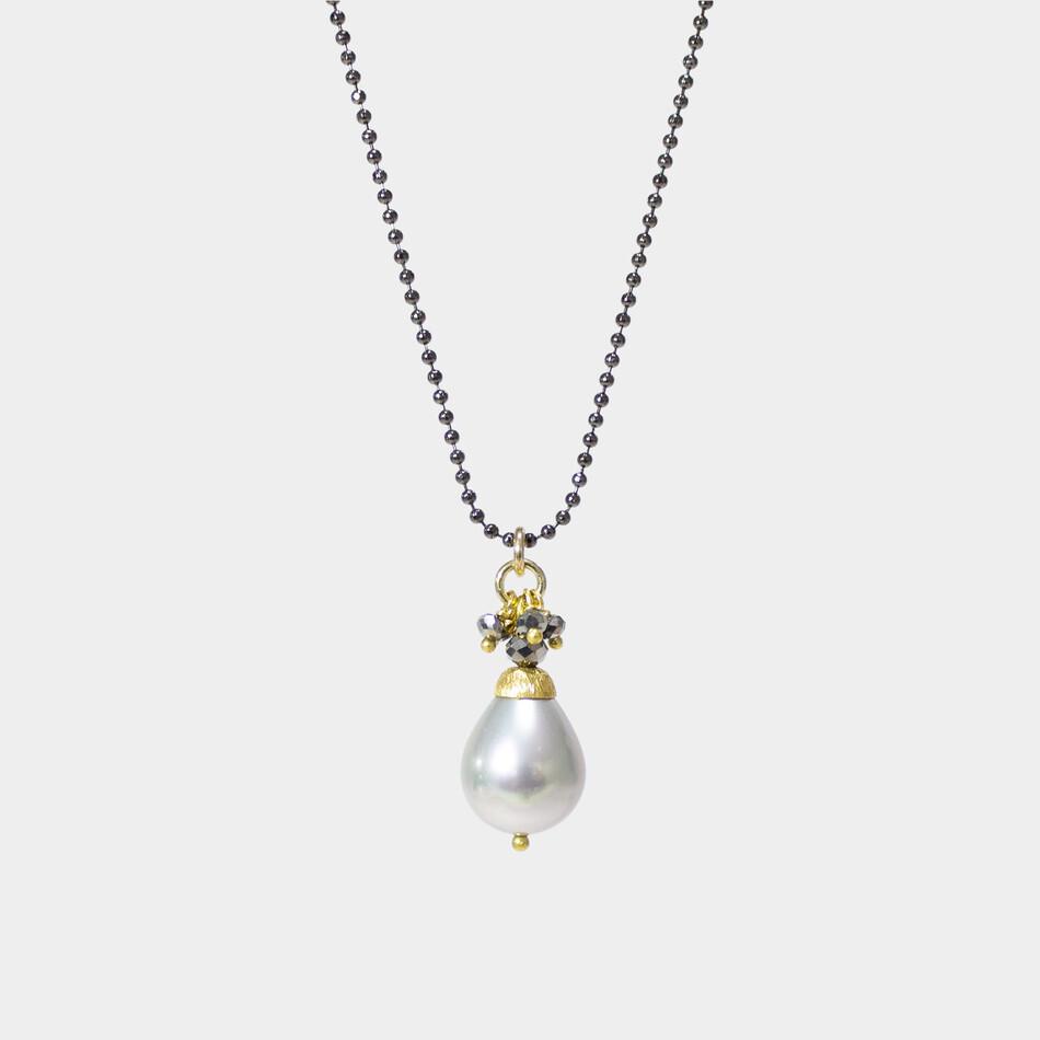 Silver Moonlight Crystal Drop