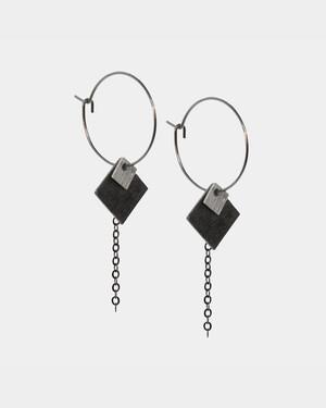 Square Silver/Black